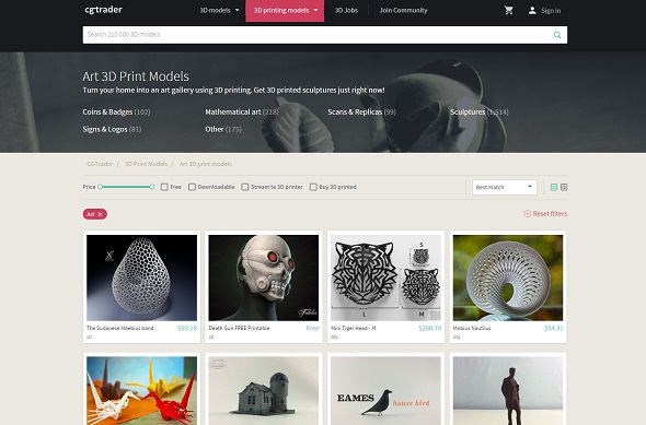 Top 10 3D Model Databases - 3D Printing Services @ your